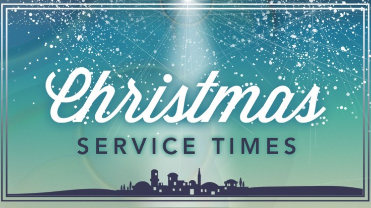 Christmas-Service-times